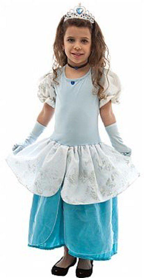 Fantasia Infantil Feminino: Princesa Cinderela Luxo