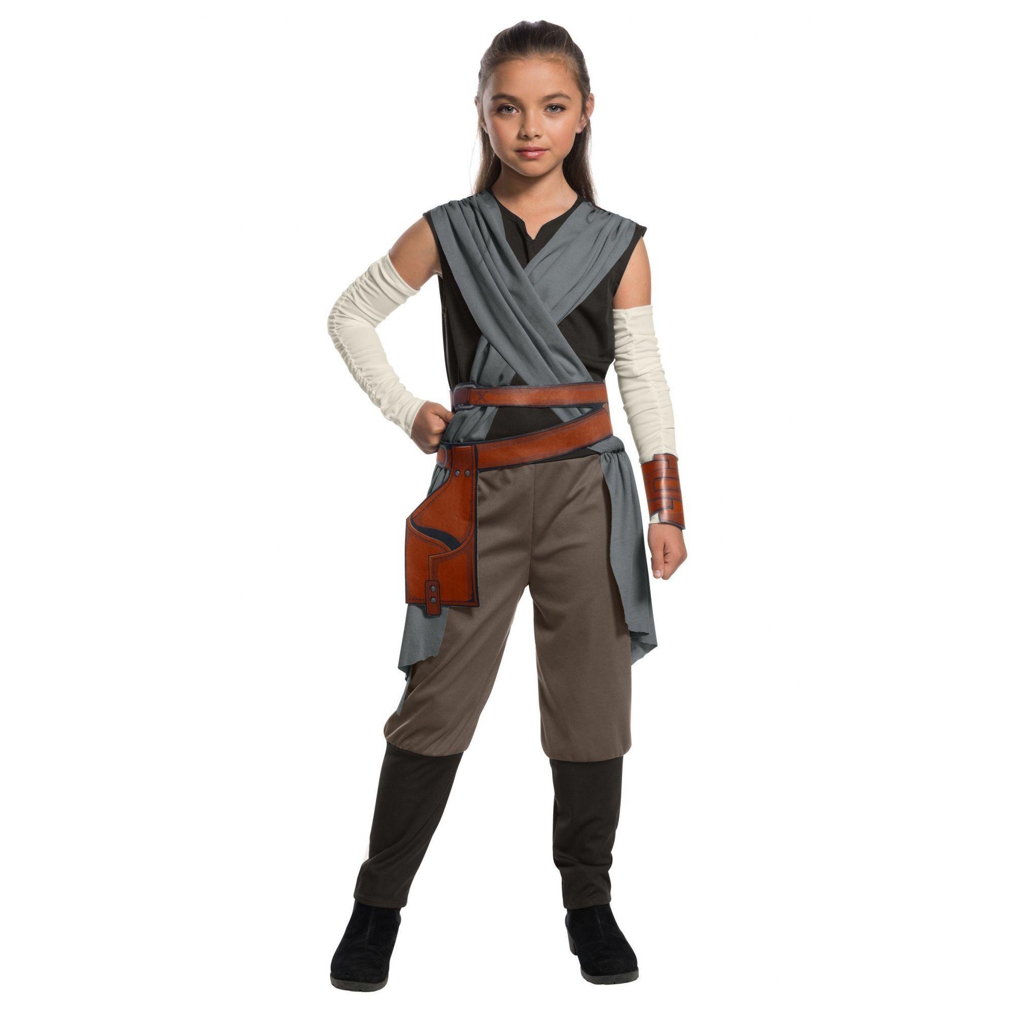 Fantasia Infantil Feminino Rey: Star Wars (Os Últimos Jedi) (Apenas Venda Online)