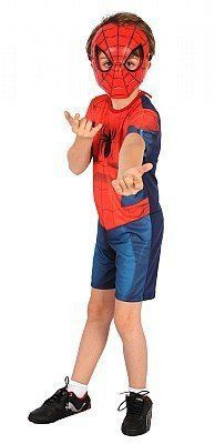 Fantasia Infantil Homem Aranha (Spider-Man) Curta