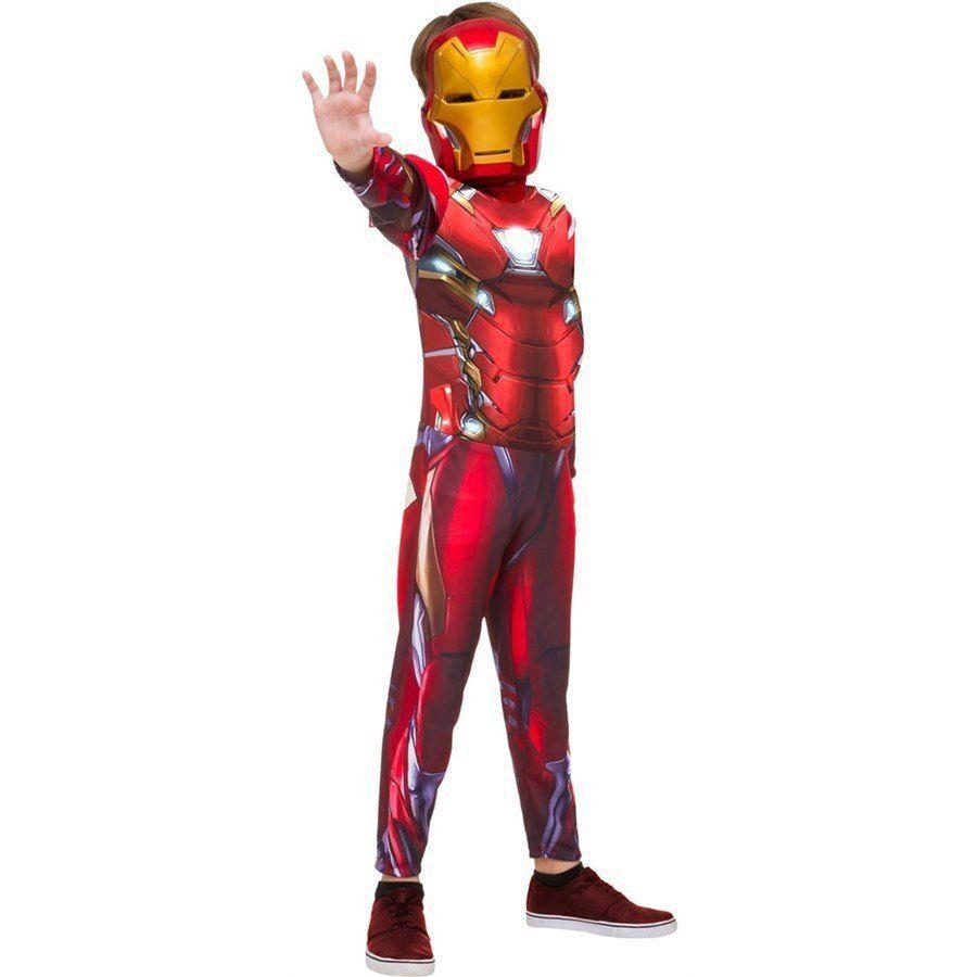 Fantasia Infantil Homem de Ferro (Iron Man) Longa Luxo