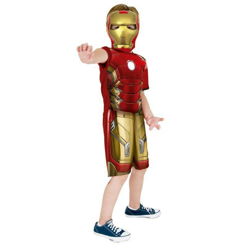Fantasia Infantil: Iron Man Curta M - Rubies