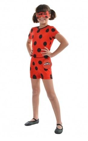 Fantasia Infantil Ladybug de Curta