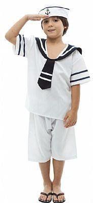 Fantasia Infantil Marinheiro Mirim