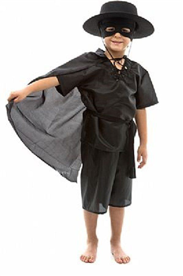 Fantasia Infantil Masculino: Pequeno Zorro