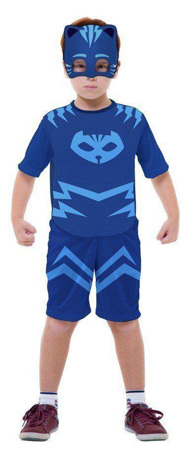 Fantasia Infantil Masculino: PJ Masks Menino Gato