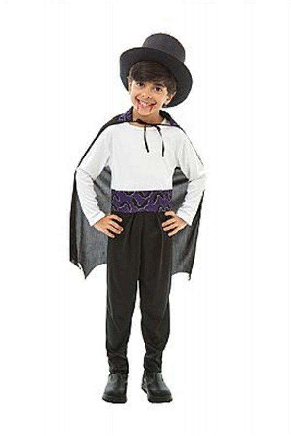 Fantasia Infantil Masculino: Vampirinho Conde Drácula