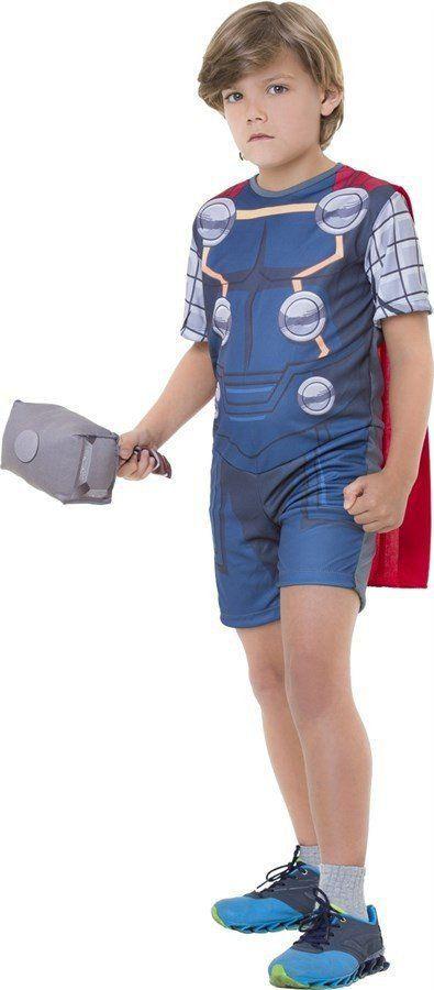 Fantasia Infantil Thor Curta