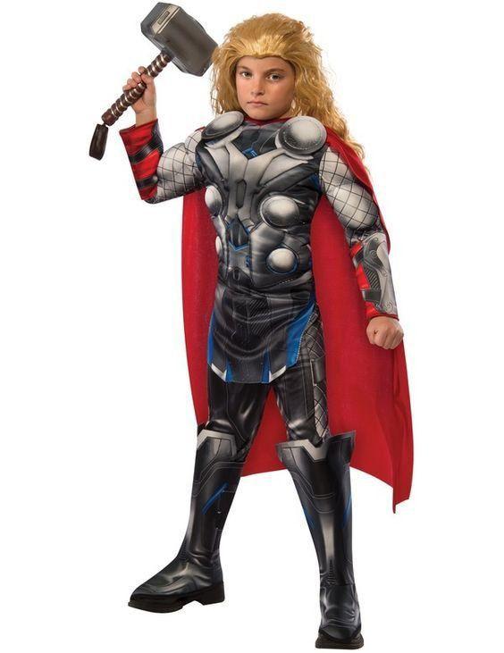 Fantasia Infantil: Thor Man Muscle Chest M - Rubies