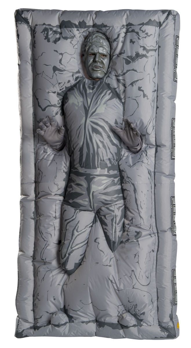 Fantasia Inflável Han Solo In Carbonite: Star Wars - Rubies Costume - CD