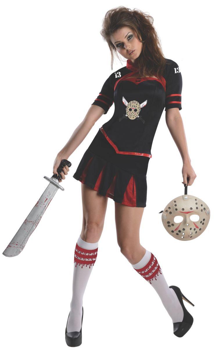 Fantasia Líder de Torcida Senhorita Voorhees: Sexta-Feira 13 (Friday the 13th) - Rubies Costume - CD