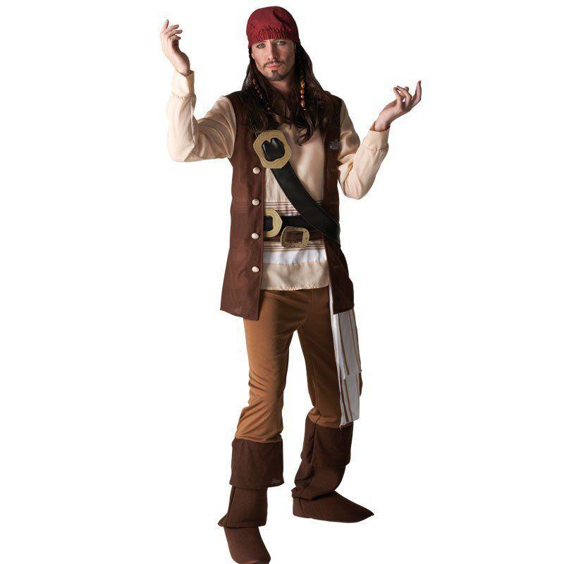 Fantasia Masculina Adulto: Jack Sparrow U - Rubies