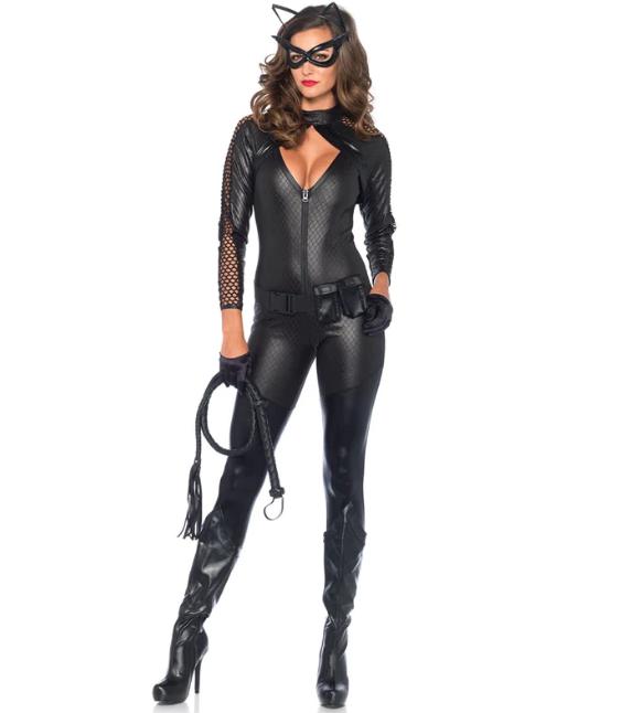 Fantasia Mulher Gato: Batman: O Cavaleiro das Trevas Ressurge DC Comics - MKP