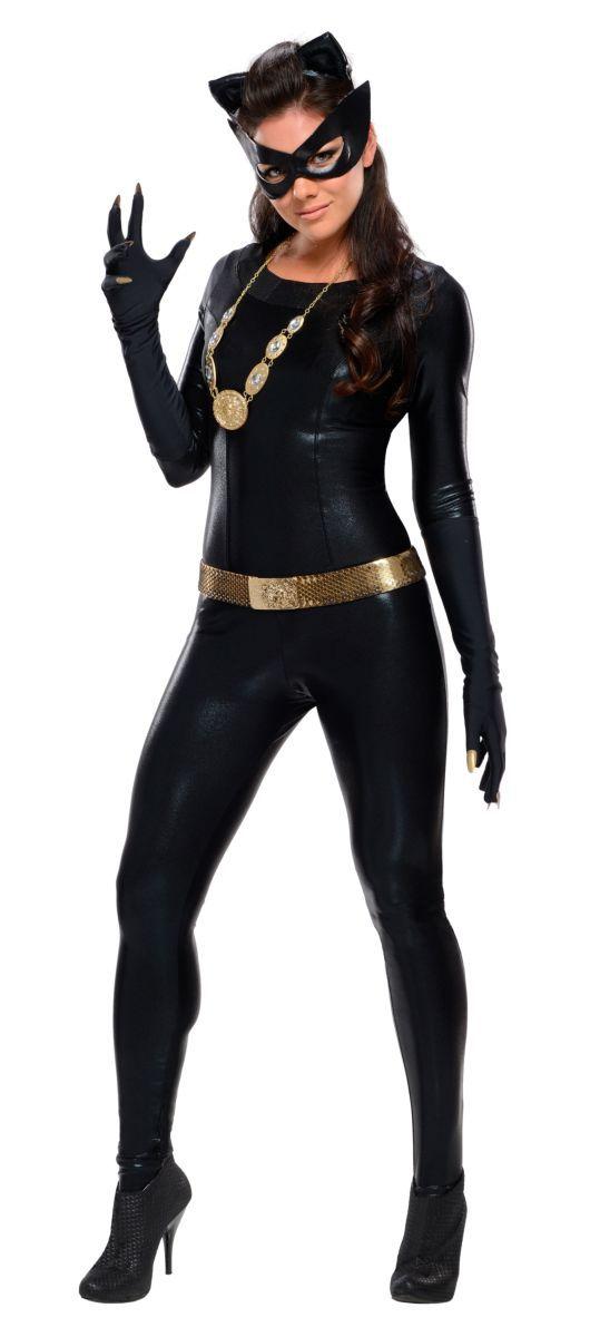Fantasia Mulher-Gato (Catwoman): Batman (1966) - Rubies Costume - CD