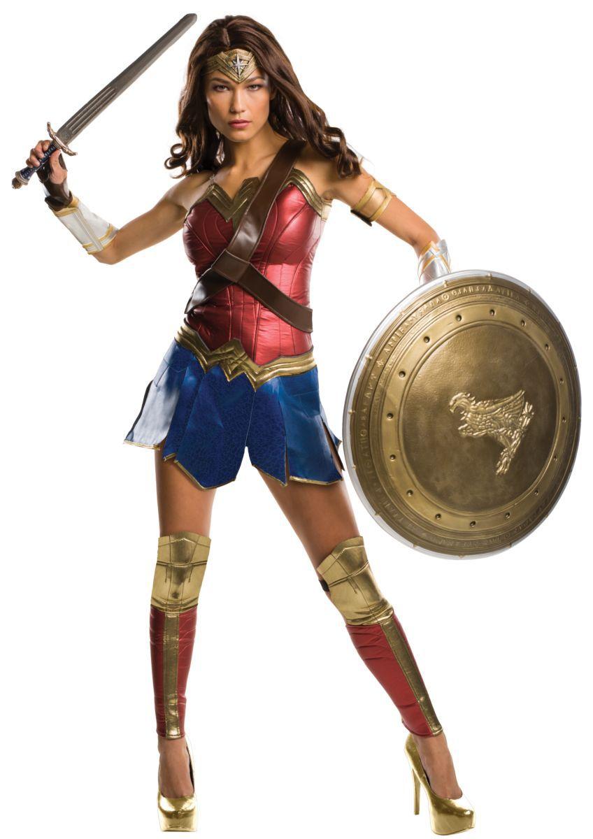 Fantasia Mulher-Maravilha (Wonder Woman): Batman vs Superman A Origem da Justiça (Dawn of Justice) - Rubies Costume - CD