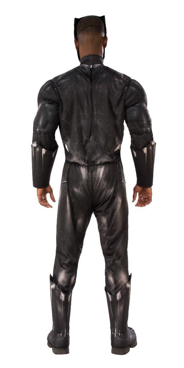 Fantasia Pantera Negra (Black Panther): Marvel - Rubies Costume - CD