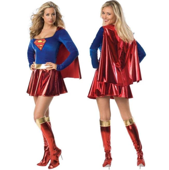 Fantasia Super Mulher Superwomen: DC Comics - MKP