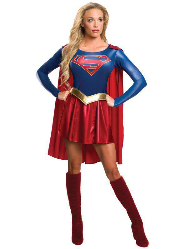 Fantasia Supergirl Adulto Sexy - Rubies