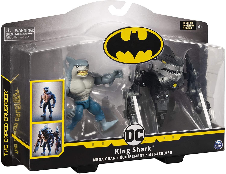 Figura de luxo com armadura Mega Gear: King Shark: Batman - DC Comics - Sunny
