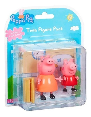 Figuras da Peppa (Mamae Pig e Peppa): Peppa Pig - Sunny