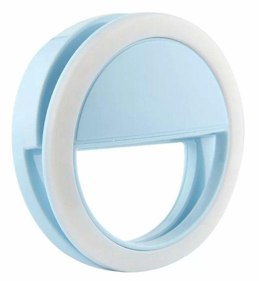 Flash de Câmera para Celular Universal (Azul)