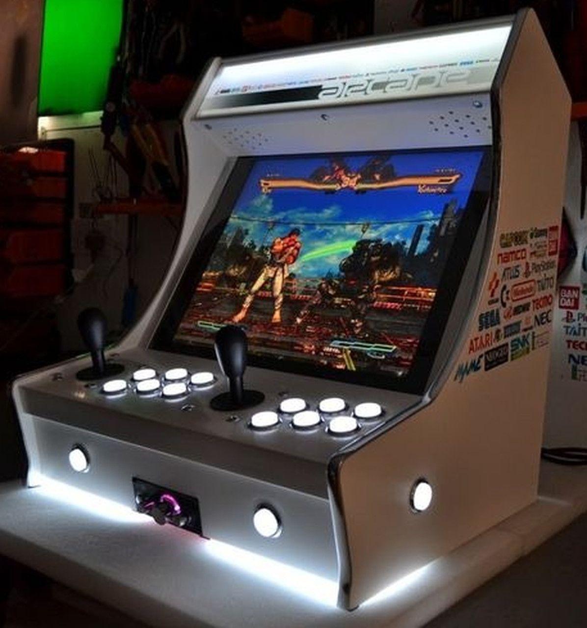 Fliperama Arcade 11.000 Jogos SNES PLAYSTATION 1 2 NINTENDO MEGA DRIVE  todos Video Games - (Controle Duplo)
