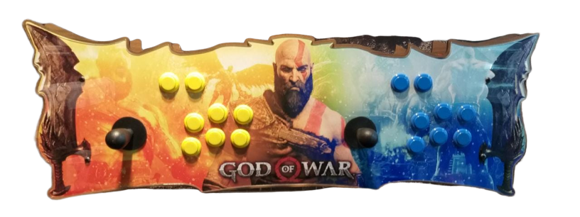 Fliperama Arcade 11.000 Jogos SNES PLAYSTATION 1 2 NINTENDO MEGA DRIVE  todos Video Games-Modelo God Of War