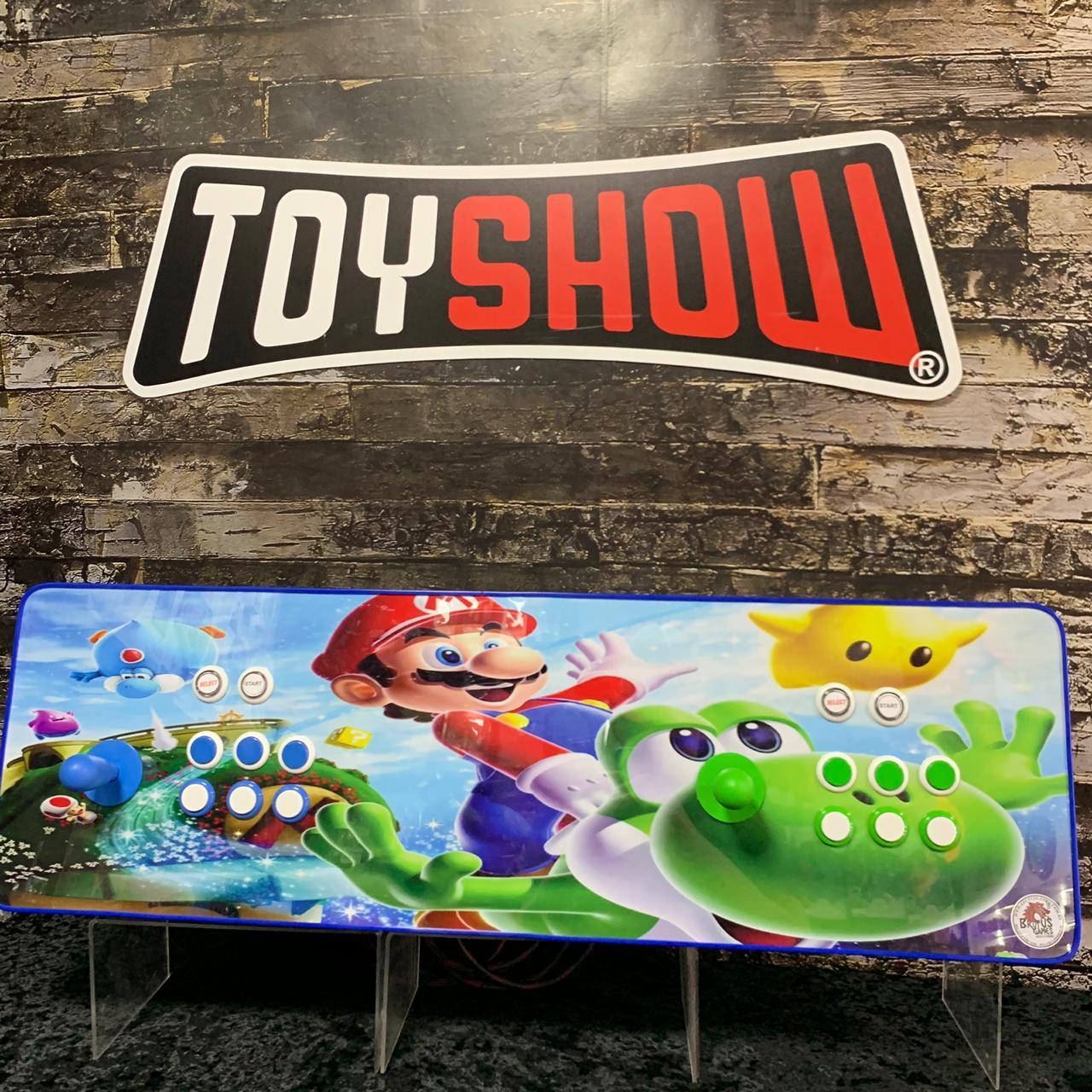 Fliperama Arcade 11.000 Jogos SNES PLAYSTATION 1 2 NINTENDO MEGA DRIVE  todos Video Games - Modelo Mario & Yoshi