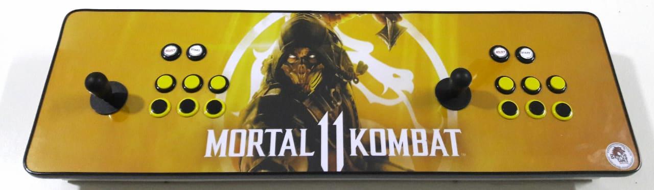 Fliperama Arcade 11.000 Jogos SNES PLAYSTATION 1 2 NINTENDO MEGA DRIVE  todos Video Games-Modelo Mortal Kombat 11