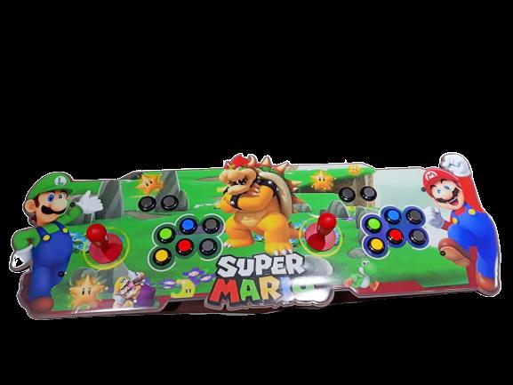Fliperama Arcade 11.000 Jogos (SNES, PLAYSTATION 1 2, NINTENDO, MEGA DRIVE) Todos Vídeo Games: Super Mario Bros (Verde)