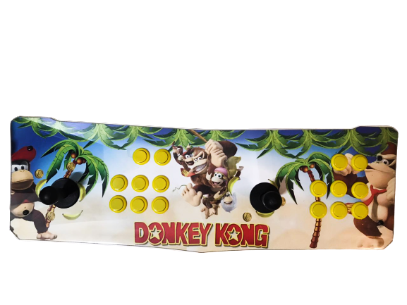 Fliperama Arcade: Donkey Kong (Nintendo, SNES, PlayStation 1 e 2, Mega Drive) Vídeo Games (11.000 Jogos)
