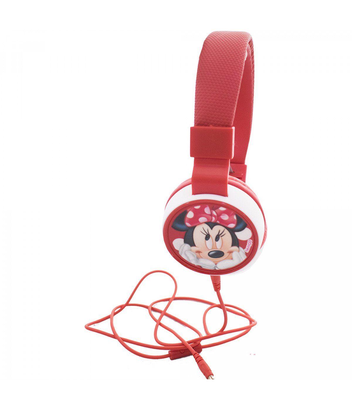 Fone de Ouvido Minnie Mouse: Disney