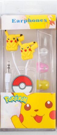 Fone de Ouvido Pokemon Pikachu