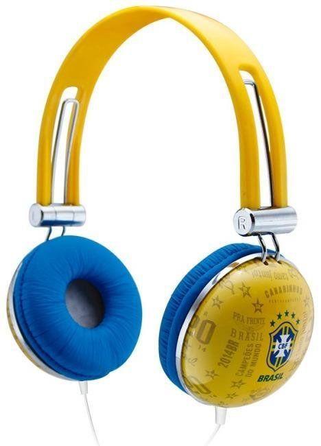 Fone de Ouvido Seleção Brasileira (Amarelo): Copa Do Mundo Russia 2018 - Waldman