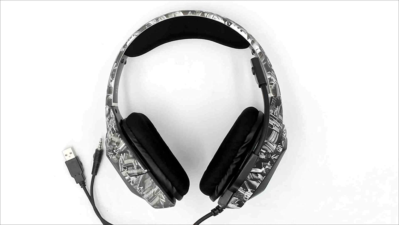 Fone Headset Gamer Profissional K20 Camuflagem Armas (PS4, Xbox One) - Onikuma