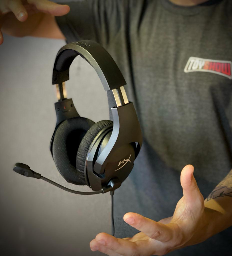 Fone Headset Gamer Profissional Cloud Stinger Core 7.1 Surround Sound - HyperX