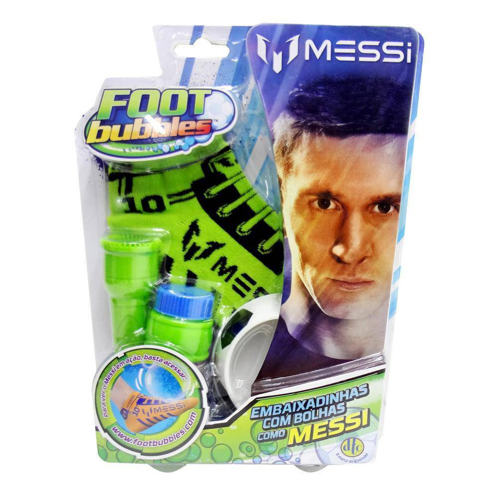 Foot Bubbles Messi: Verde - DTC