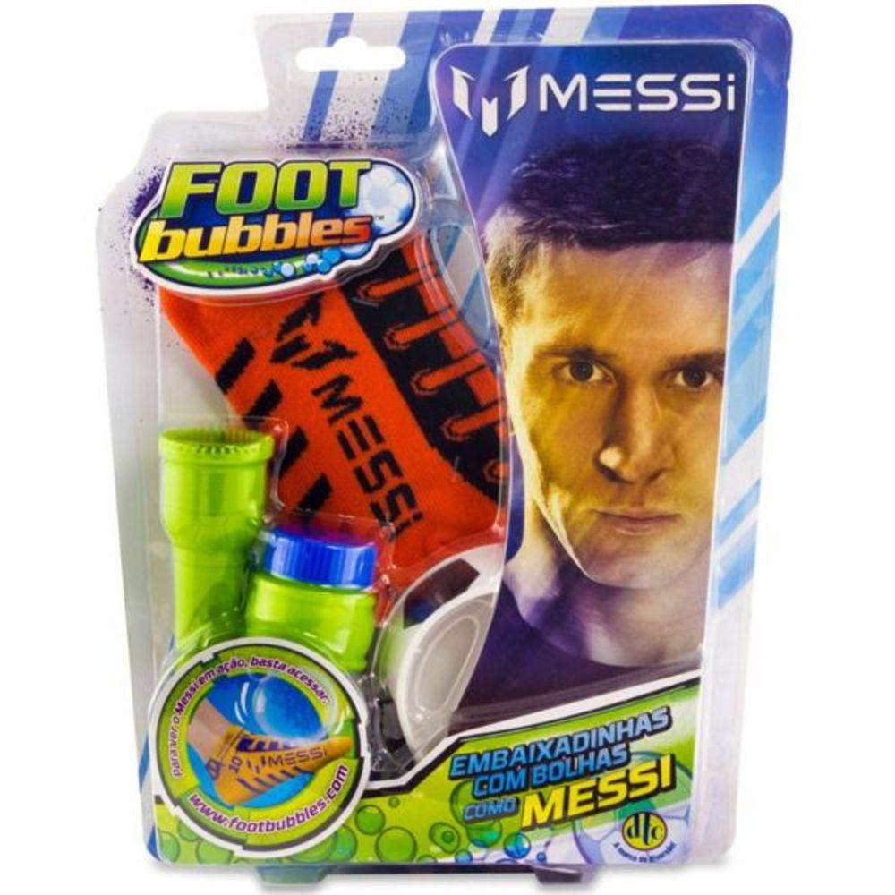 Foot Bubbles Messi: Vermelho - DTC