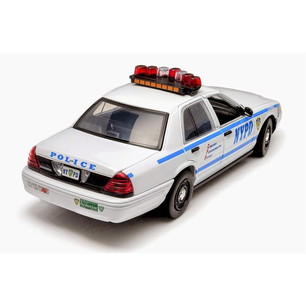 Ford Crown Branco NYPD - GreenLight