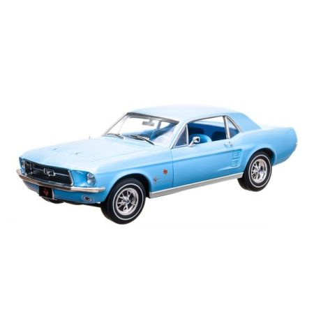 Ford Mustang Coupe Lone Star Limited Edition 1967 - Escala 1:18 - Greenlight