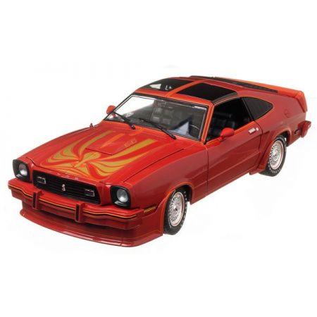 Ford Mustang II 1978 King Cobra Vermelho - Greenlight