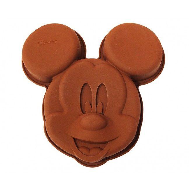Forma de Bolo Silicone Mickey Mouse (Marrom) - Disney