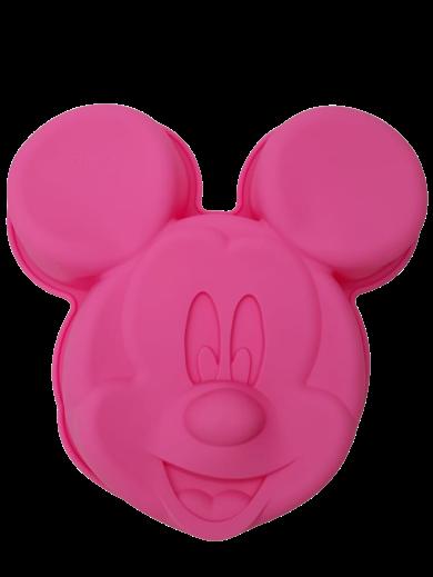 Forma de Bolo Silicone Mickey Mouse (Rosa) - Disney