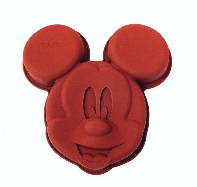 Forma de Bolo Silicone Mickey Mouse (Vermelho) - Disney