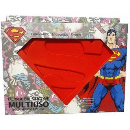 Forma de bolo SuperMan silicone - Dc Comics