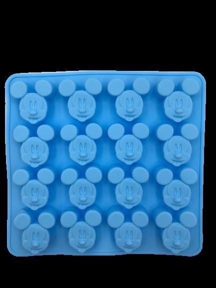 Forma de Gelo Silicone Mickey Mouse (Azul) - Disney