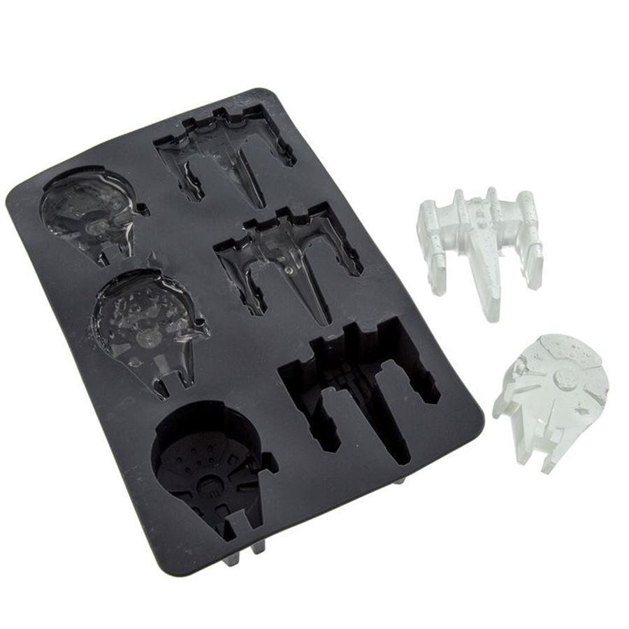 Forma de Gelo Star Wars: Millennium Falcn e X-Wing - Underground Toys