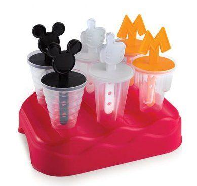 Forma para Sorvete Mickey Mouse: Disney - Plasutil