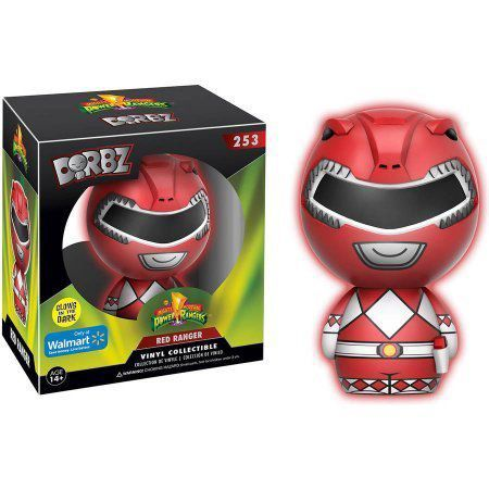 Funko Dorbz Red Ranger : Power Rangers (Exclusivo) #253- Funko