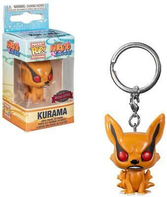 Funko Pocket Keychains Kyuubi Kurama Raposa de Novo Caudas: Naruto Shippuden - Funko