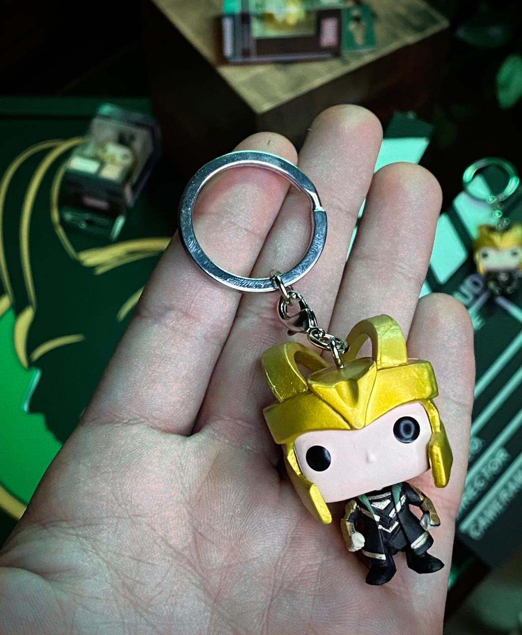 Funko Pocket Pop! Keychains: Avengers: Loki Marvel - Funko